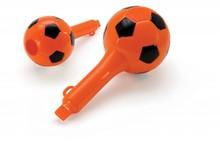 Orange с самба свирка и снабден с отвор (отпечатан с футбола)
