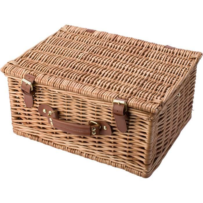 Panier pique nique de luxe pour 2 personnes y compris les couverts et la vaisselle goods and - Panier picnic pas cher ...