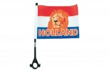 Orange Holland Bike Flag