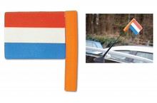 Car antenna flag Holland