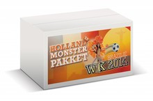 Complete sample package Holland orange items 2014 World Cup
