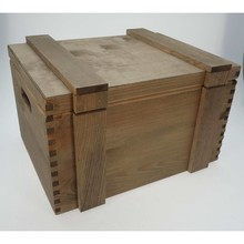 "Ship Boxes ""Browny"" brownwashed color (400 x 300 x 230 mm)"