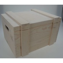 "Ship Chests ""Blanca"", natural wood color (400 x 300 x 230 mm)"