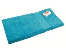 Grote lichtblauwe baddoeken (formaat 70 x 140 cm, 450 grams)
