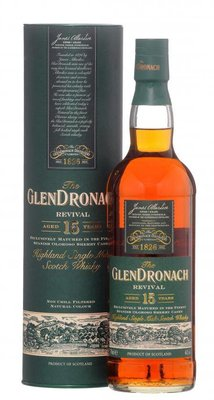 GlenDronach 12 години Възраждането Single Malt Whisky (0,7 литра)