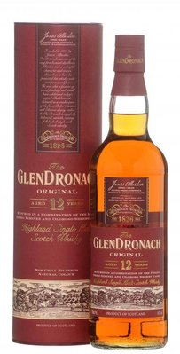 GLENDRONACH 12 years Revival Single Malt Whisky (inhoud 0,7 liter)