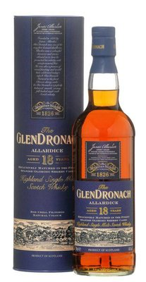 GLENDRONACH 18 years Allardice Single Malt Whisky (inhoud 0,7 liter)