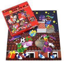 Sinterklaas en Zwarte Piet puzzel (afmeting 35 x 35 cm)