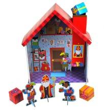 Leuk 3D bouwpakket van het huis van Sinterklaas
