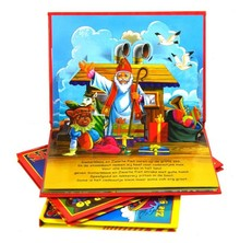 Nice Sinterklaas pop-up books for children