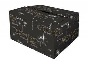 Hos os kan du købe jule bokse mønstrede Lykke!
