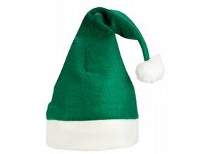 Goedkope Kerstmutsen met een witte rand (volwassen maat)
