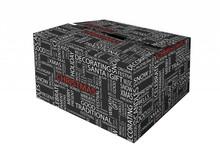 Verrassingskerstpakketten ter waarde van 35 euro ( breukvoorkomend in een kerstdoos ingepakt met papierwol)
