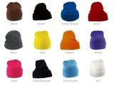 Дешевые трикотажные зимние шапки (взрослый размер)