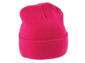 Евтини жълти плетени зимни шапки (размер за възрастни)