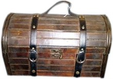 "Colonial дървена кутия вино ""Delores"" (размер 320 х 125 х 150 мм)"