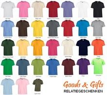 Fair Trade T-shirts met korte mouw en ronde hals (100% katoen)