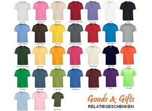 Fair Trade T-shirts med korte ærmer og rund hals (100% bomuld)