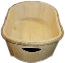 Billige træ badekar (umalet)