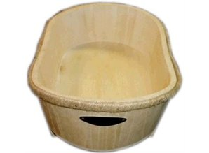 Goedkope houten badkuipen (ongelakt) kopen?