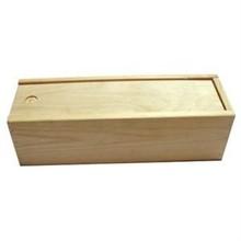 1-бен кутии за вино с плъзгащ се капак (празен дървен материал)