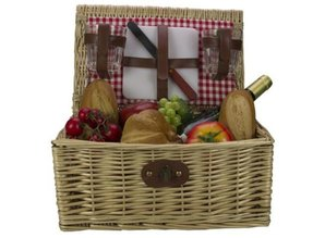 """Cheap Picnic Baskets """"Rosita"""" (incl. Cutlery for two people)"""