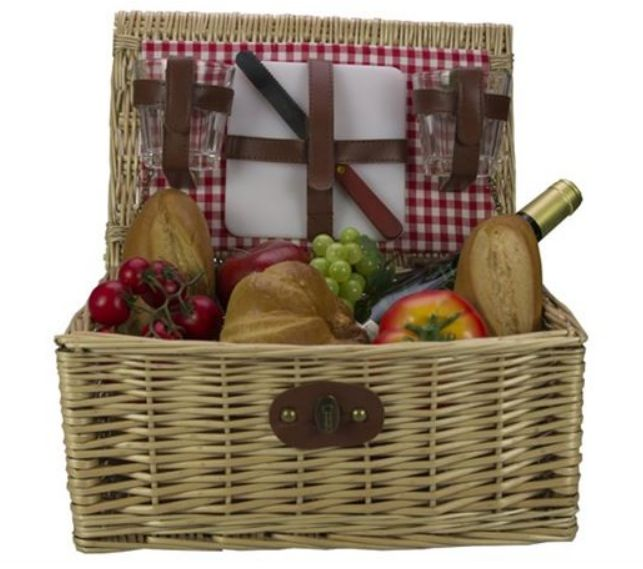 Cheap Picnic Basket For 4 : Cheap picnic baskets quot rosita incl cutlery for two