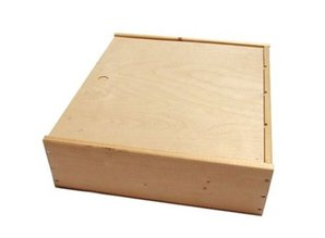 Cheap 6-compartment wooden wine boxes for 6 bottles of wine!
