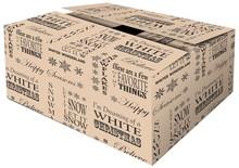Luksus kvalitet Jul Boxes, ekstra robust, dobbelt bølgepap (sæson 2015)