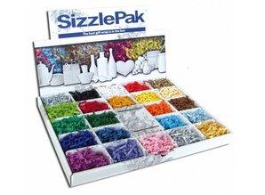 Sizzlepak® in de kleur naturel (craft) in doos (inhoud 2 kg)