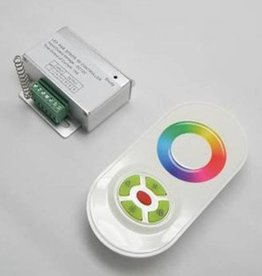 RGB Controller with touch-wheel remote White