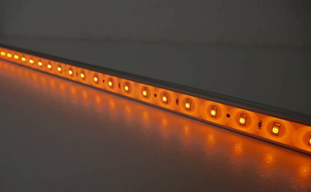Barra LED impermeable de 50 cm - Amarillo