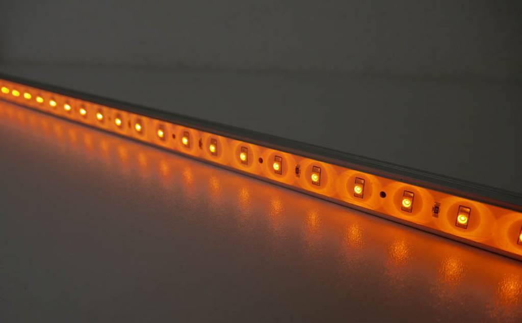 Striscia LED Rigida - Giallo - 50 Centimetri