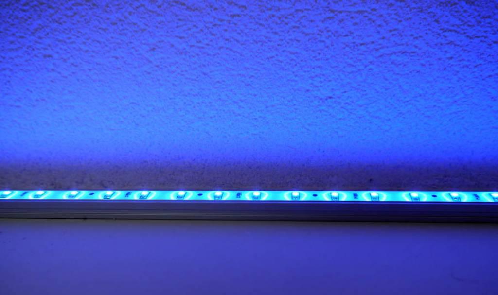 Barre LED impermeable de 50 cm - Azul