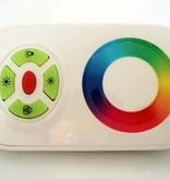 RGB Controller met touchwheel afstandsbediening - Wit