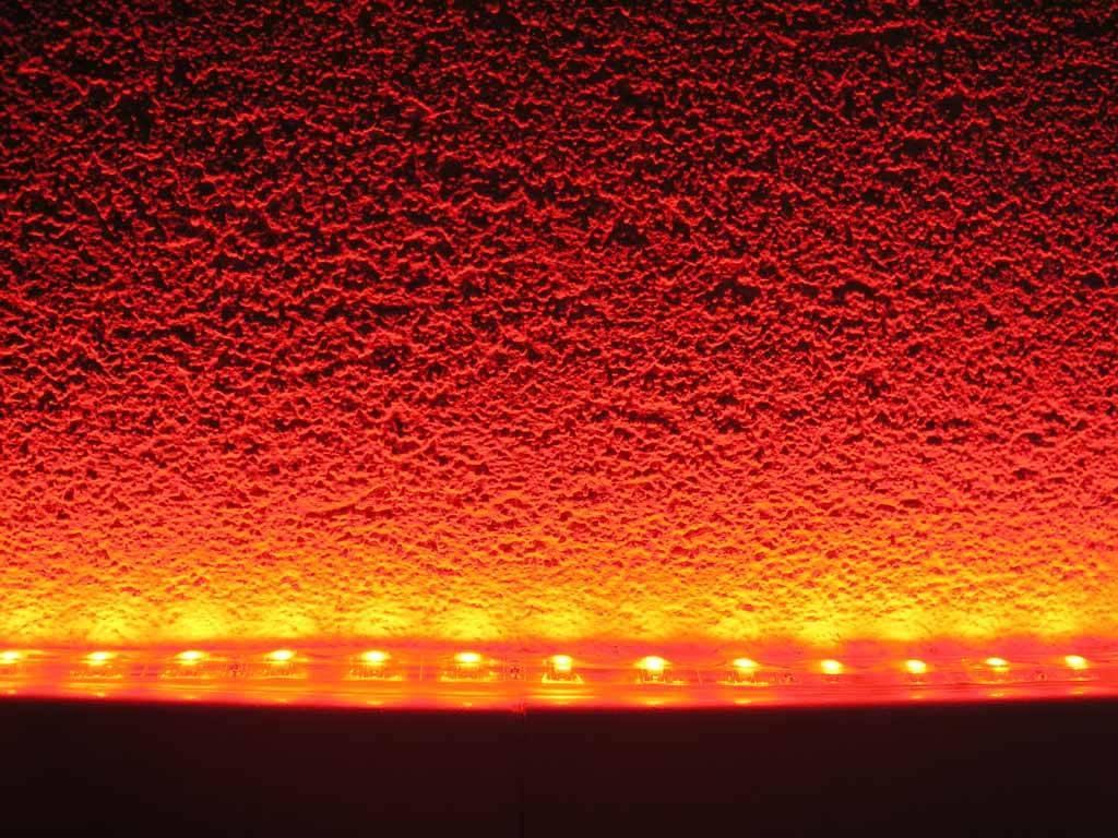 LED en bande auto-adhésive Étanche (IP68) Rouge par 50cm
