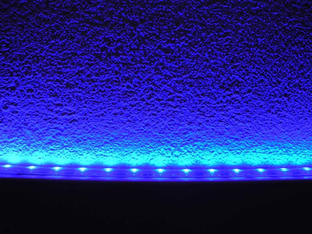 led streifen wasserdicht blau je 50cm. Black Bedroom Furniture Sets. Home Design Ideas