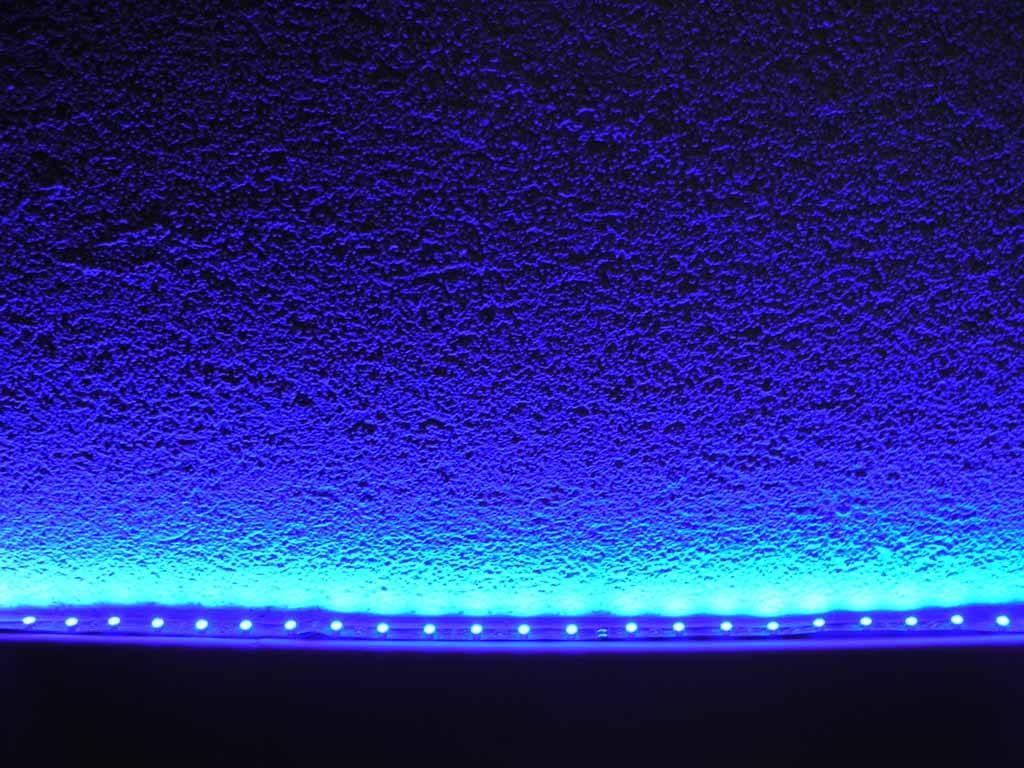 led en bande auto adh sive bleu par 50cm. Black Bedroom Furniture Sets. Home Design Ideas