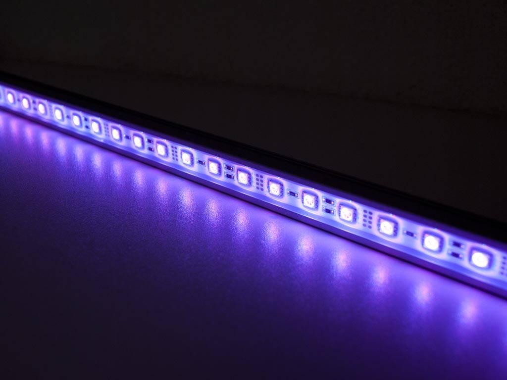 led leiste 50 zentimeter rgb 5050 smd 7 2w. Black Bedroom Furniture Sets. Home Design Ideas