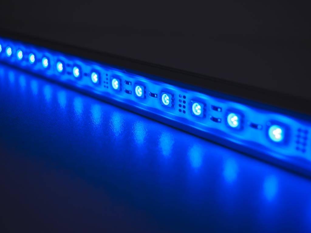 led balk 50 cm blauw 5050 smd 7 2w. Black Bedroom Furniture Sets. Home Design Ideas