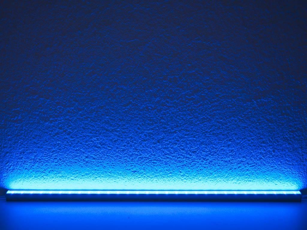 Barra LED impermeable de 50 cm - Azul - 5050 SMD 7.2W - BuyLEDStrip ...