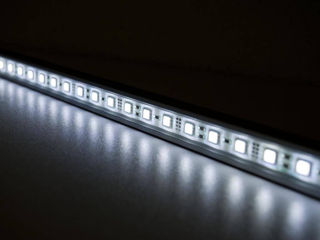 barre de led de 100 centim tres blanc 5050 smd 14 4w. Black Bedroom Furniture Sets. Home Design Ideas