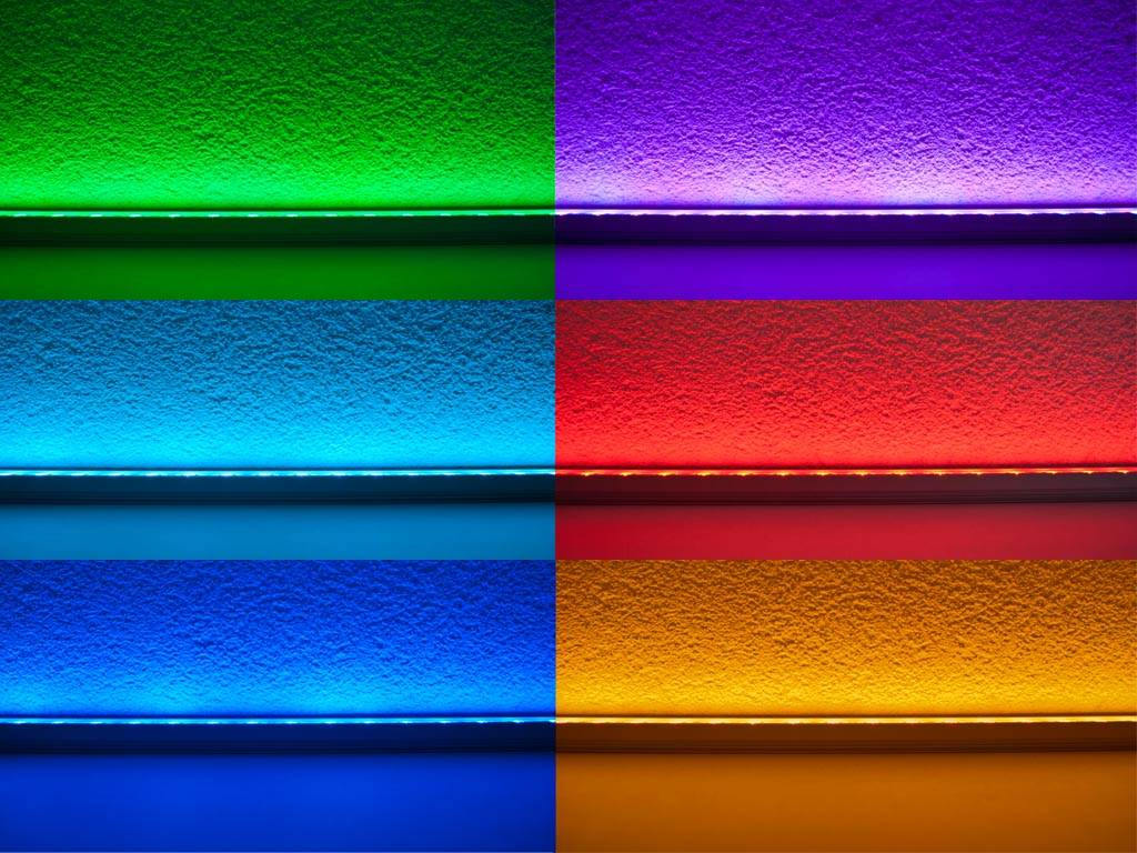 LED bar 50 cm RGB 5050 SMD 7.2W