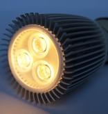 GU5.3 COB LED Spot LM90 9 Vatios 12 Volt Regulable