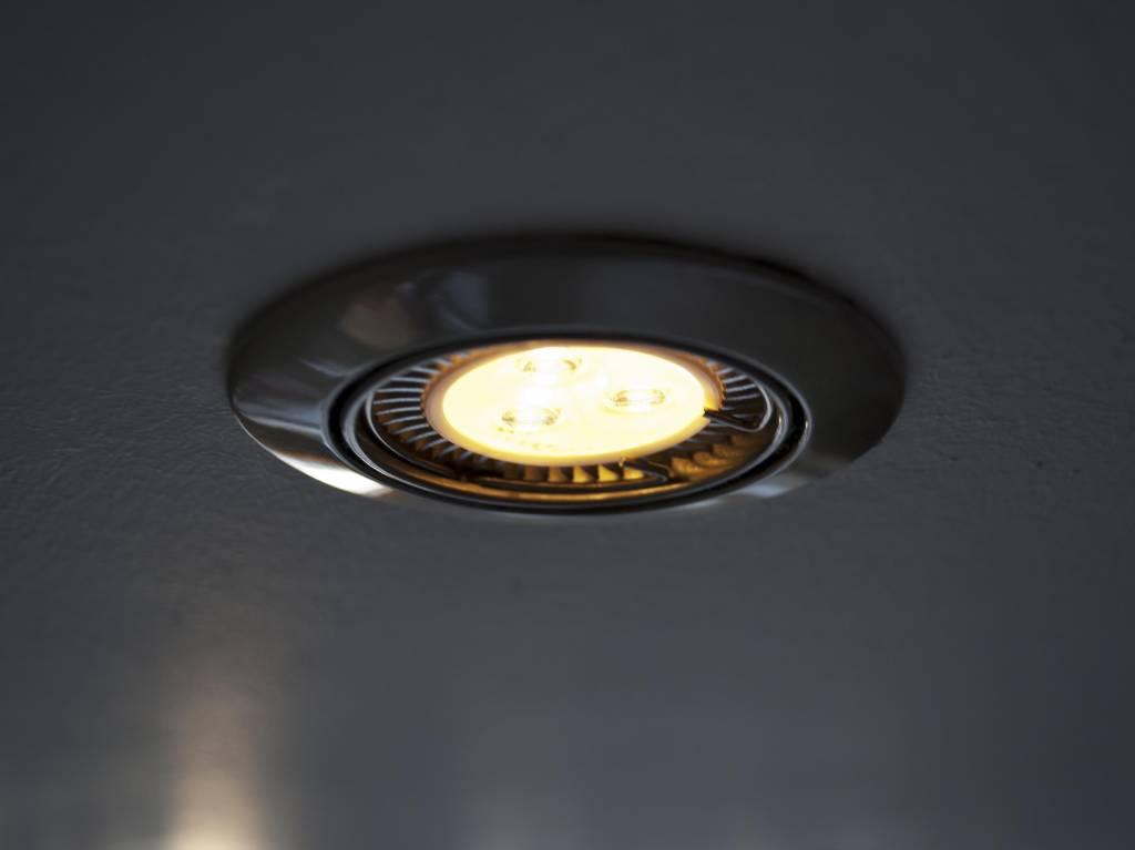 gu5 3 cob led spot lm90 9 watt 12 volt dimbaar. Black Bedroom Furniture Sets. Home Design Ideas