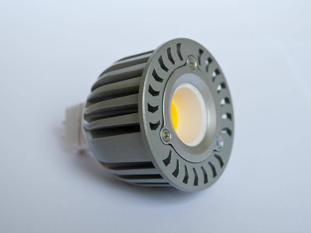 gu5 3 cob led spot lm50 5 watt 12 volt dimmbar. Black Bedroom Furniture Sets. Home Design Ideas