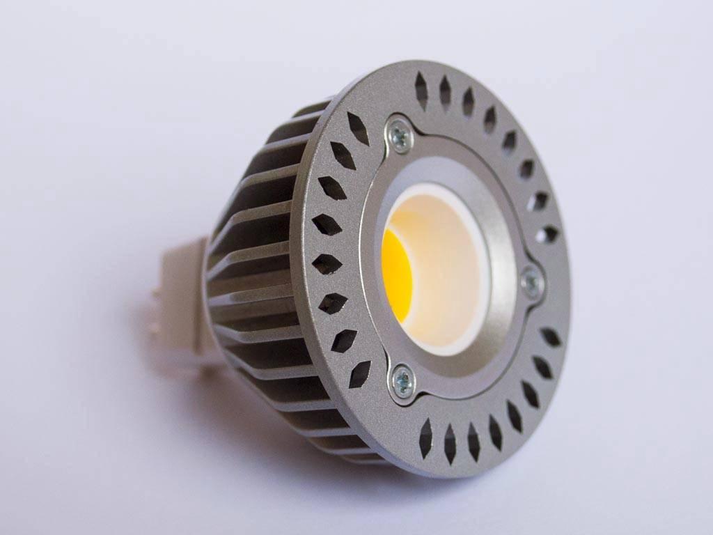 gu5 3 cob led spot lm35 3 5 watt 12 volt dimmbar. Black Bedroom Furniture Sets. Home Design Ideas