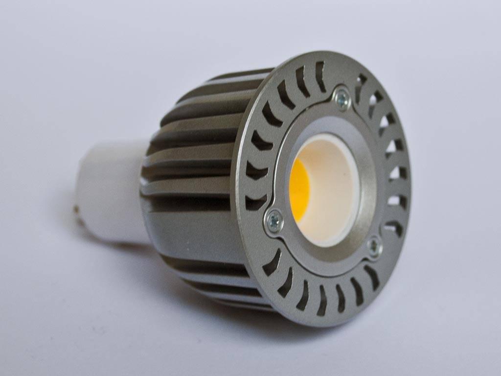 GU10 COB LED Spot LM50 5 Watt 110-230 Volt Dimbaar - BuyLEDStrip.com