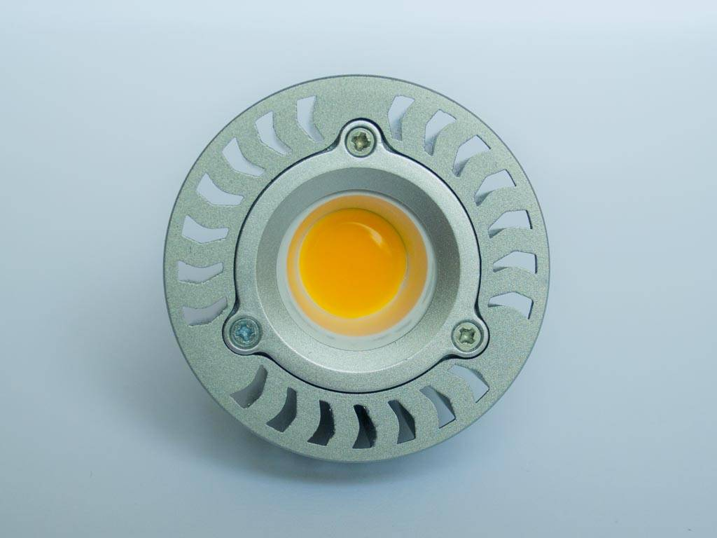 GU10 COB LED Spot LM50 5 Vatios 110-230 Volt Regulable