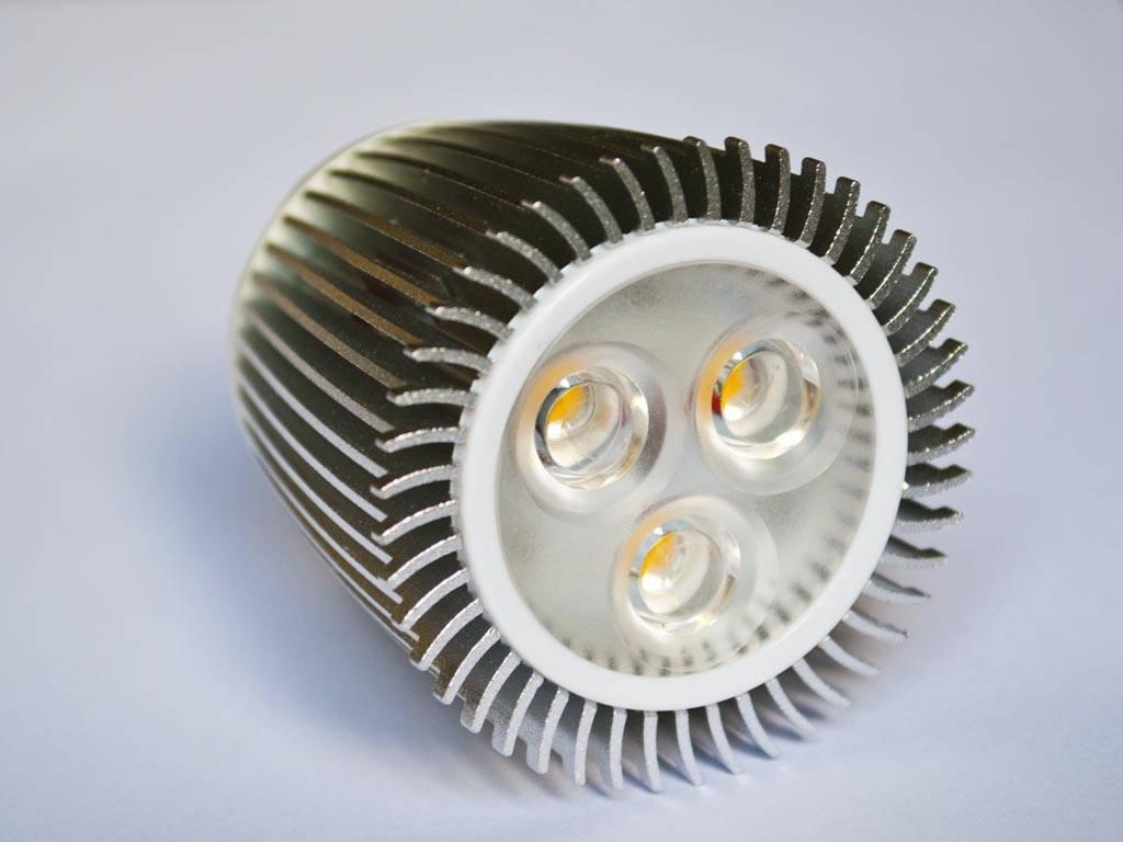 GU5.3 COB LED Spot LM90 9 Watt 12 Volt Dimmable - BuyLEDStrip.com
